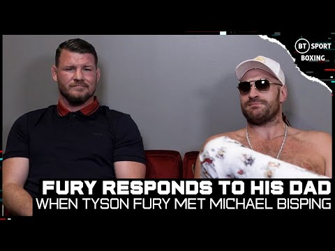 Tyson Fury on John Fury's 'conspiracies', Fury-Wilder 3, and Conor McGregor | When Fury met Bisping!