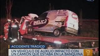 Accidente vial en Ruta 9
