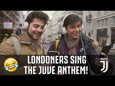 JUVENTUS HYMN CHALLENGE! How did Londoners do?