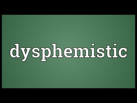 Header of dysphemistic