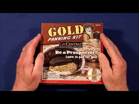 GeoCentral Gold Panning Kit Review