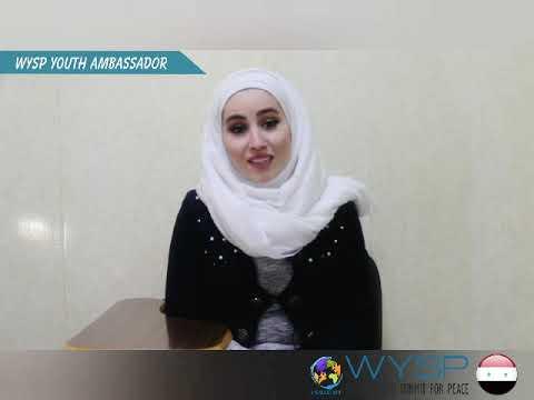 WYSP Youth Ambassador from Syria
