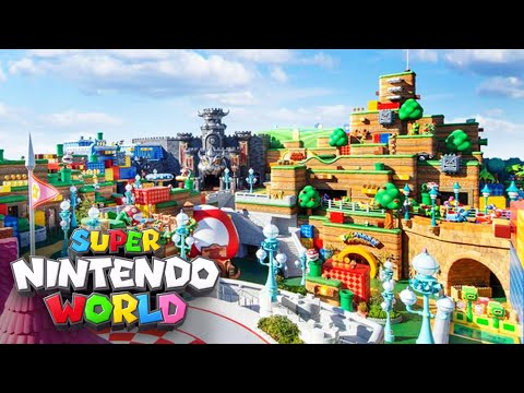 Super Nintendo World: Rides, opening day and everything else we know
