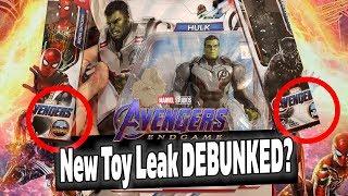 New Avengers Endgame Toy Leak DEBUNKED? Real Spoilers HERE!