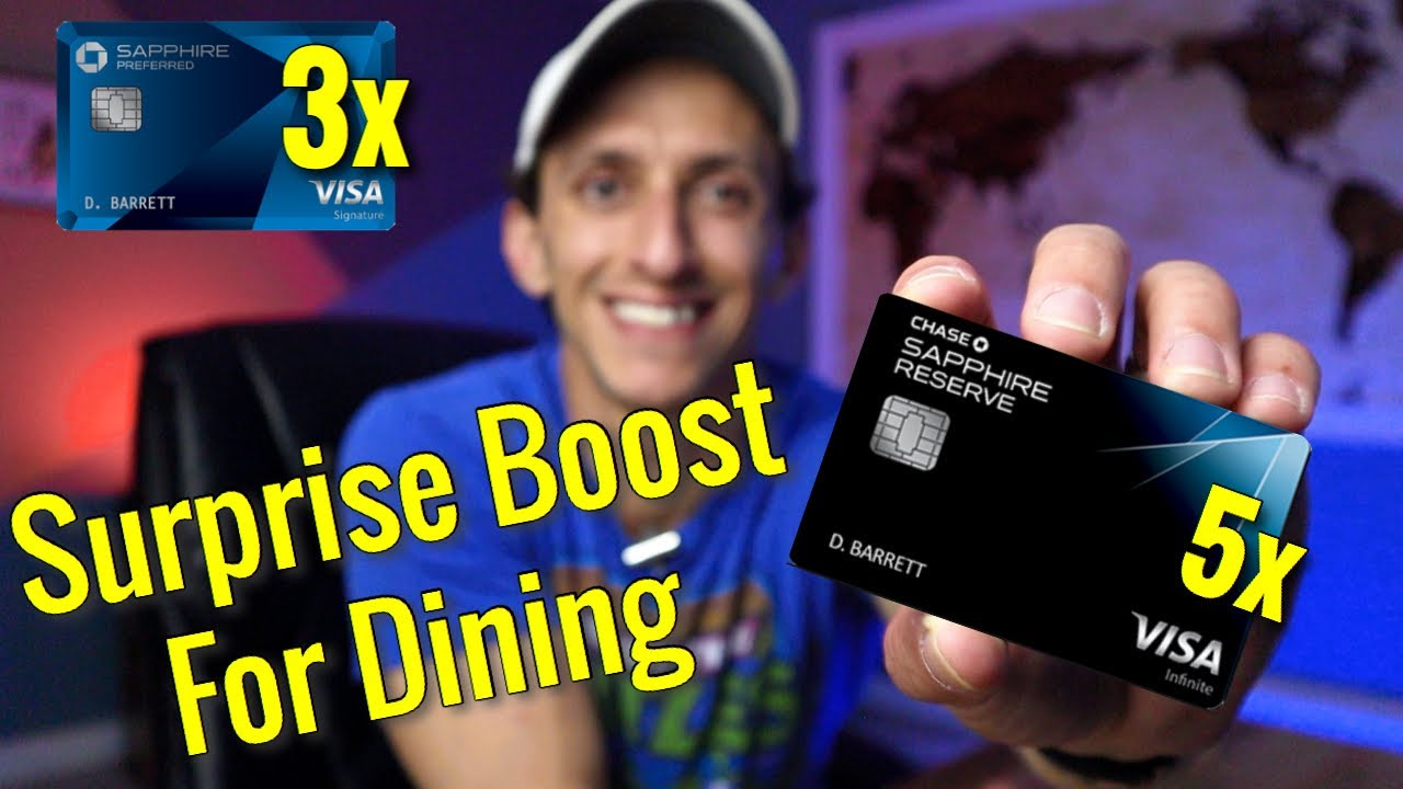 UNANNOUNCED BENEFIT: Chase Sapphire Cards EARNING MORE For Dining