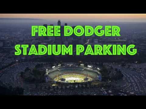 Free Dodger Stadium Parking!!