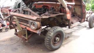 1962 Chevy K20 Truck Disassembly