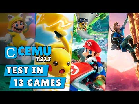 CEMU 1.21.3 (Wii