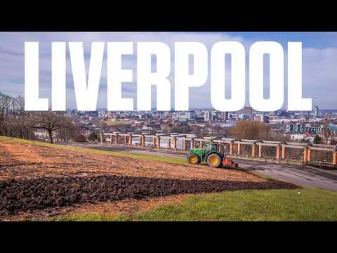 Time-lapse film shows Liverpool transformed with wildflowers