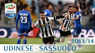 Udinese - Sassuolo - Serie A 2013/14 - ENG