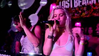 LEE FOSS ANABEL ENGLUND, LEE CURTIS & RUSS YALLOP @ LOST BEACH PARTY - Funktion-one