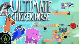 THE HARDEST LEVELS? - Ultimate Chicken Horse (#24) | Let's Play