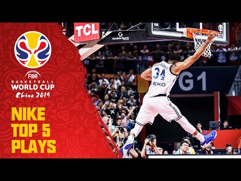 nike-top-5-plays-|-day-2-|-ft.-giannis,-mitchell-&-more!-|-fiba-basketball-world-cup-2019