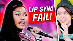 Biggest Lip Sync FAILS! (Selena Gomez, Nicki Minaj & MORE Caught)