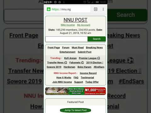 How to create forum topics on NNU_INCOME