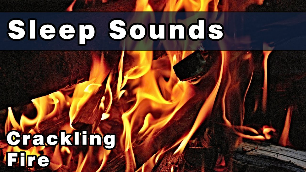 Sleep Sounds: Peaceful CRACKLING FIRE, White Noise Sound, Relax by ...