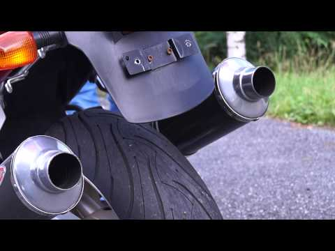 1999 Suzuki TL1000S with Ixil exhaust!