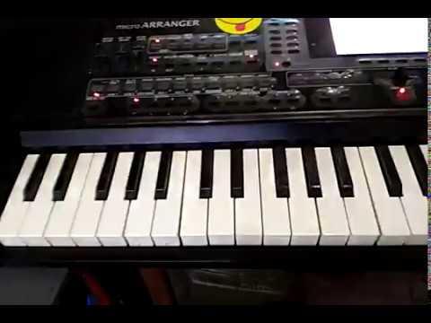 cara buat style korg micro arranger bar panjang