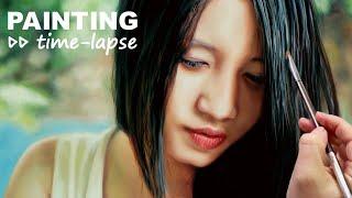 Woman Asian portrait