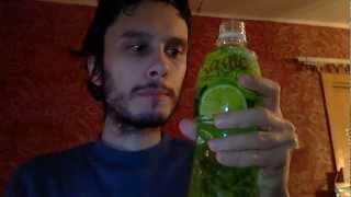 Напиток Волшебные фрукты с лаймом, сухарики и закуска