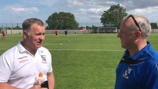Marcus Newell - Pre-match Interview - Kidsgrove Athletic (H)