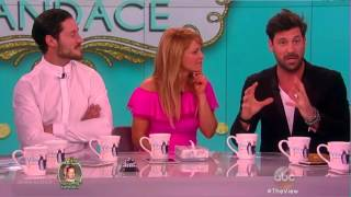 Val and Maks on The View - 04.06.16