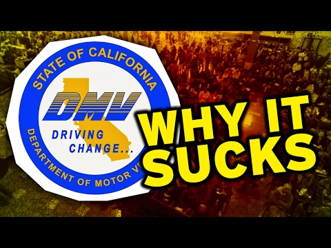 Here's Why Going to the DMV Sucks