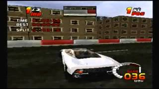 TOCA 2 Touring Car Challenge PS1: Downtown USA