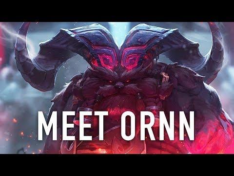 Meet Ornn, the Fire Below the Mountain | League of Legends Champion Reveal