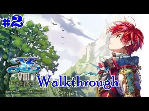 Ys VIII: Lacrimosa of DANA - Walkthrough Part 2 [Full 1080p HD] - 동영상