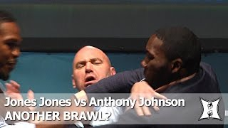 "Another Staredown Brawl?! UFC LHW Champ Jon ""Bones"" Jones vs Anthony ""Rumble"" Johnson"