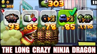 Zombie Tsunami: Lets Start With The Long Crazy Ninja Dragon and he's is mad ! Follow the Cards