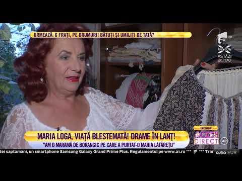 Maria Loga, o viaţă care bate scenariul unei telenovele! I-au fost răpite cele două fetiţe și