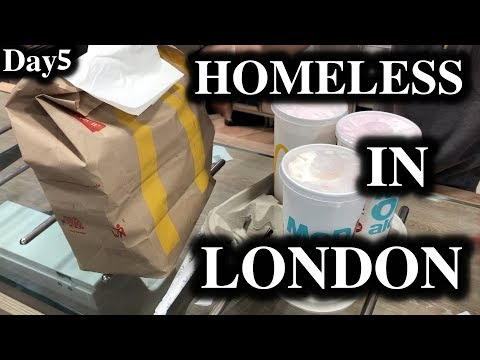 London Hacks - Homeless In London