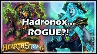 Hadronox... ROGUE?! - Boomsday / Arena / Hearthstone