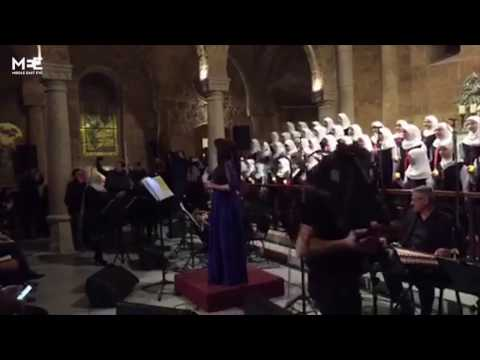 Muslim choir girls singing Arabic Christmas carols captures hearts