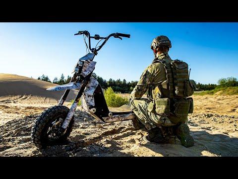 Mosphera - a Military Grade e-scooter