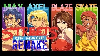 Streets Of Rage Remake -  24th Anniversary Mania Run For The Future Streets Of Rage 4 Game.