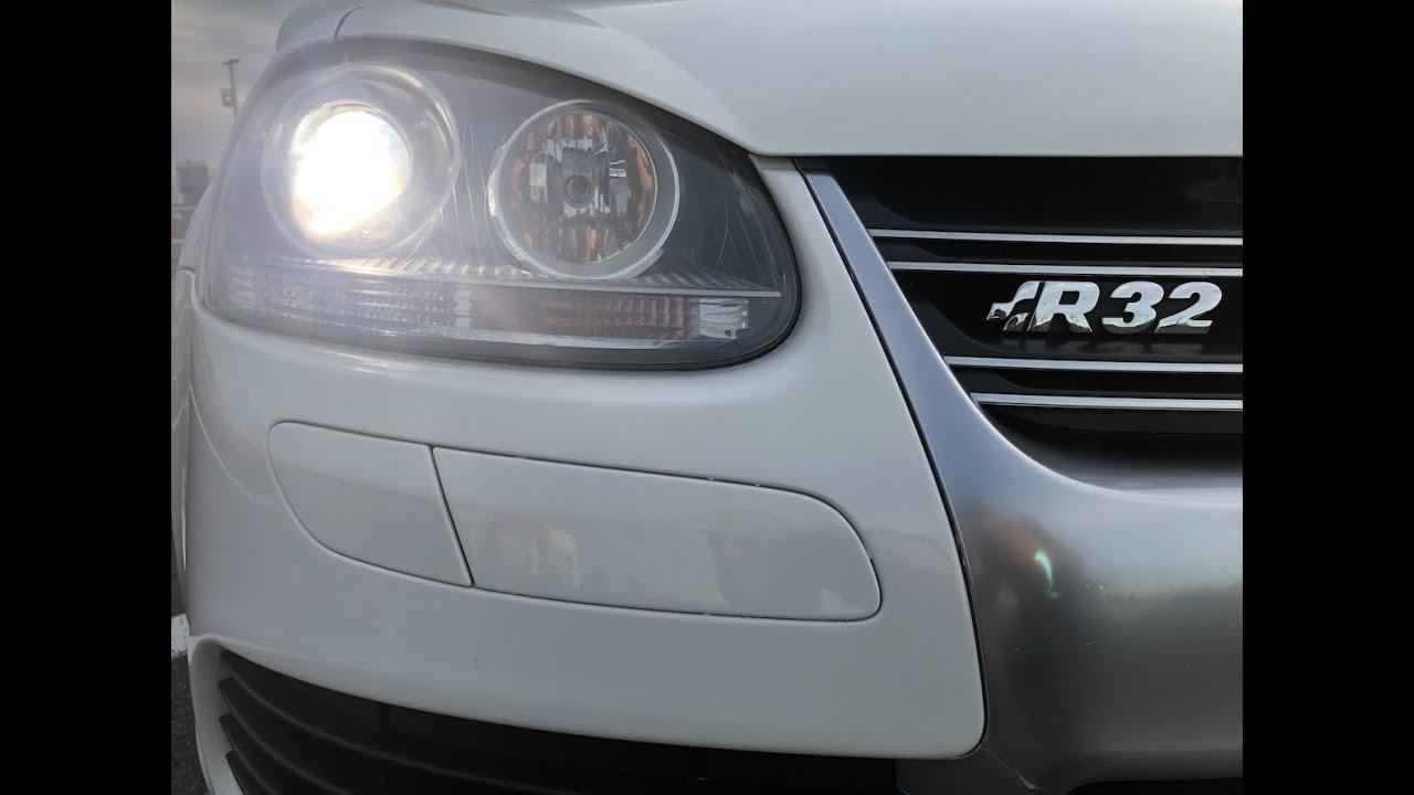 Golf R32 Mk5 White DSG