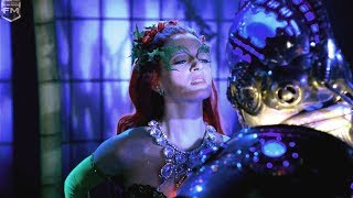 Mr. Freeze meets the Poison Ivy at the party | Batman & Robin