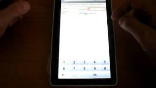 Мобильная торговля на андроид-планшете