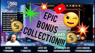 16 Slot Bonuses!! EPIC BONUS COLLECTION!!