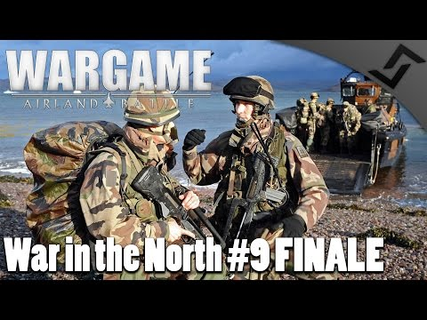 French Marines FINALE - Wargame: AirLand Battle - War in the North #9 COOP Campaign