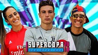 Juninho x Natalia Guitler - Começou a Supercopa Desimpedidos 2019!