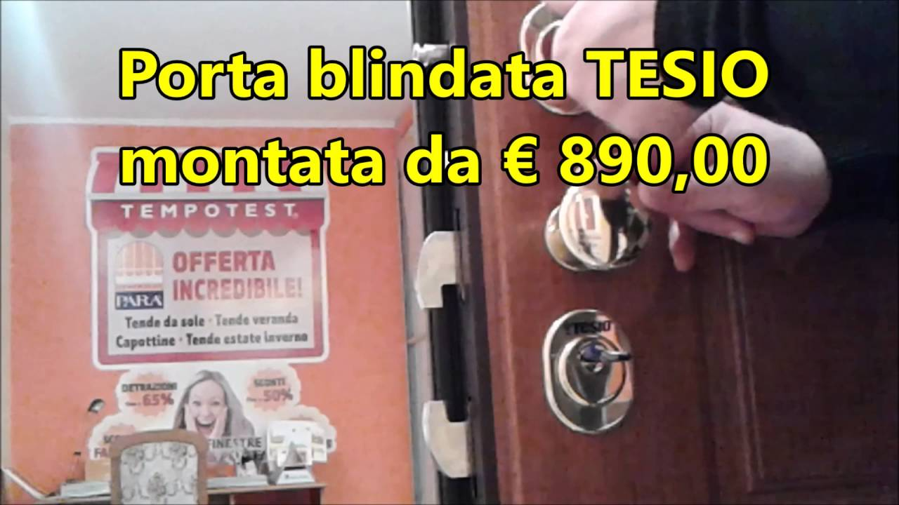 Porte Blindate Torino | Offerta Tesio con Prezzi Fabbrica Online ...