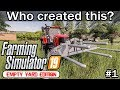 Starting with 0$ ⊛ Old streams farm ⊛ Farming simulator 2019 timelapse ⊛ episode 1