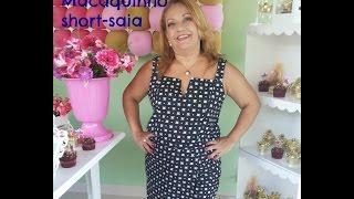Macaquinho short-saia – parte 2 – confecção