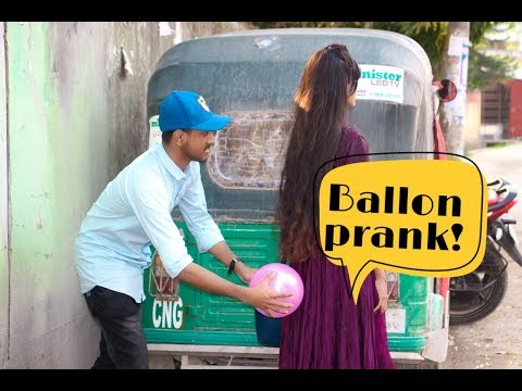 Funny ballon prank !  New Prank Video 2019