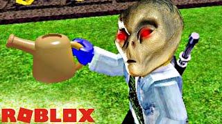 Roblox - Exploited farmer grows alien plants and destroys galaxy - Farmtown