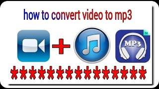 how to converter video song to mp3 hindi urdu video by official shahrkh tips